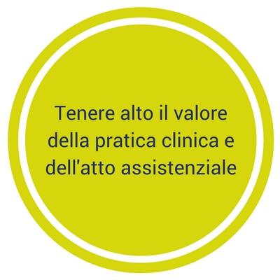 Tenere alto il valoredella pratica clinica edell'atto assistenziale(1)